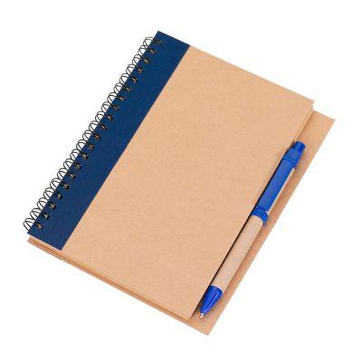 Promozionale Brindes - Caderno de anotações azul