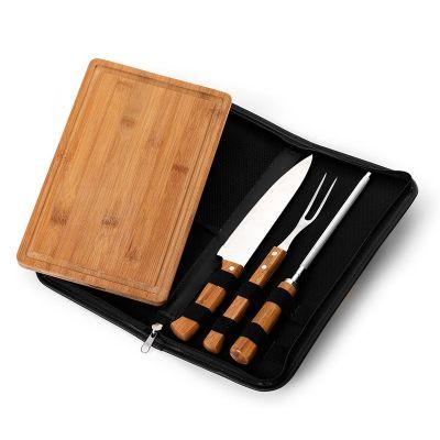 Promozionale Brindes - Kit churrasco personalizado.