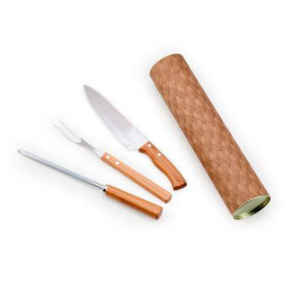 Tubo Kraft para churrasco 3 peças
