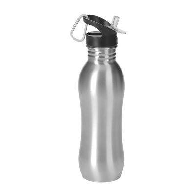 Promozionale Brindes - Squeeze inox com mosquetão 700 ml