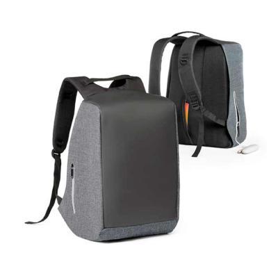 Mochila para notebook 900D de alta densidade e tarpaulin. Sistema anti-roubo: compartimento princ...