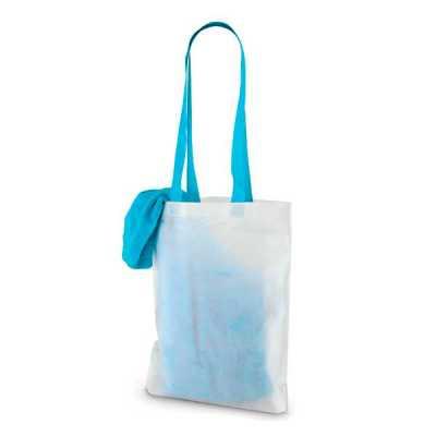 Toalha de praia. Veludo de algodão: 320 g/m².Fornecida com sacola em TNT/non-woven (80 g/m²).