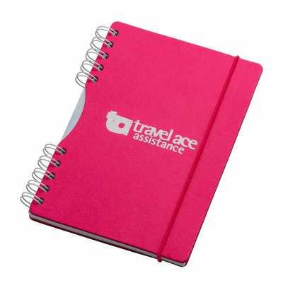 Caderno - formato 145 x 205 mm Capa e contra capa em cartão revestido com papeis especiais Miolo:...