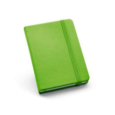 Vintore Brindes Especiais - Caderneta de couro sintético. Capa dura. Com 80 folhas não pautadas.