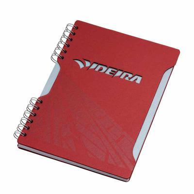 Caderno - formato 180 x 250 mm Capa e contra capa em cartão revestido com papeis especiais Miolo:...