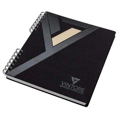Vintore Brindes Especiais - Caderno quadrado capa cartão