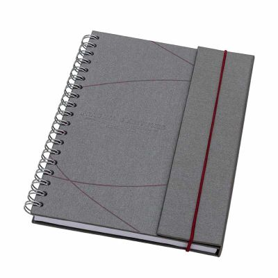 Vintore Brindes Especiais - Caderno com Aba e Elástico
