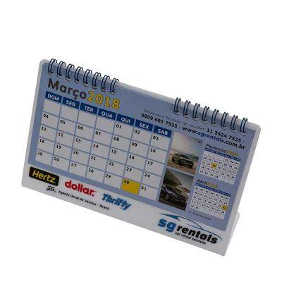 Calendário de Acrílico - Vintore Brindes Especiais