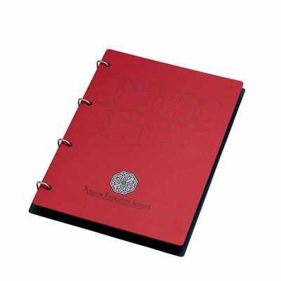 Vintore Brindes Especiais - Capa: 225 x 310 mm, acabamento com ferragem para até 200 folhas. Acrílico disponível em 14 cores diferentes (consulte tabela de cores). Opcionais: mio...