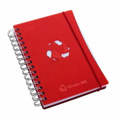 Agenda diária capa acrílico Agenda diária - formato 145 x 205 mm Capa em acrílico e contra capa e...