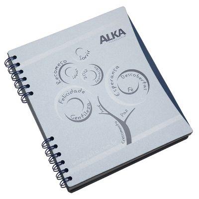 Vintore Brindes Especiais - Caderno capa cartão com recorte