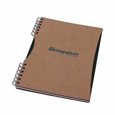 Caderno grande capa cartão