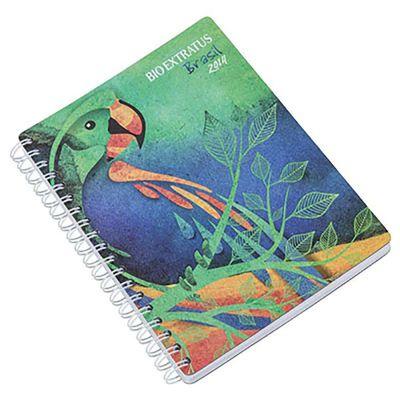 Caderno capa cartão
