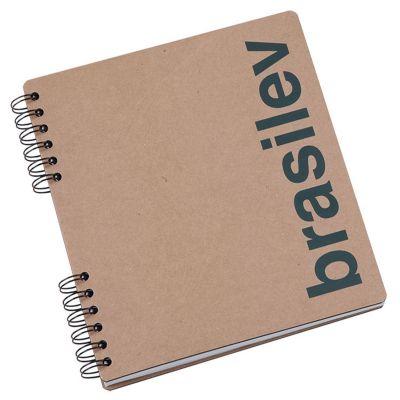 Vintore Brindes Especiais - Caderno com capa de papel cartão