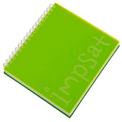 Vintore Brindes Especiais - Caderno capa acrílica e acabamento Wire-o