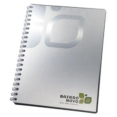 vintore-brindes-especiais - Caderno capa alumínio