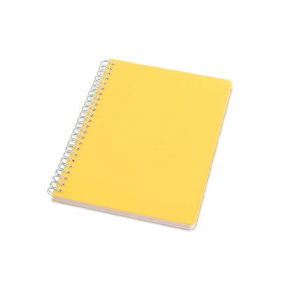 Caderno capa de plástico - Vintore Brindes Especiais