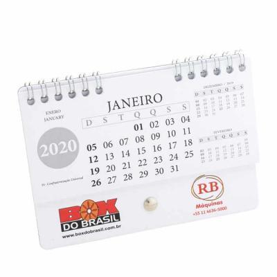 Base: Cartão 105 x 148 mm com pino parafuso niquelado Miolo 12 lâminas Papel off-set padrão, acab...