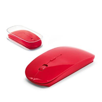 Mouse wireless 2.4G. ABS. Incluso 2 pilhas AAA. Em caixa transparente. 57 x 113 x 20 mm | Caixa: ...