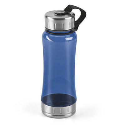 Vintore Brindes Especiais - Squeeze de aço inox e AS. Capacidade: 600 ml.