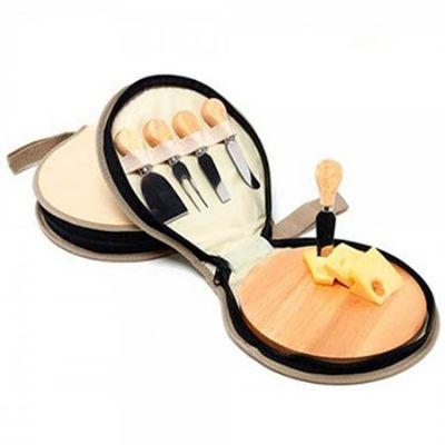 Suzan Brindes & Gráfica - Kit queijo com 5 peças personalizadas.