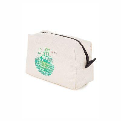 Pró Verde Confecções - Necessaire ecológica em lona com goma leve