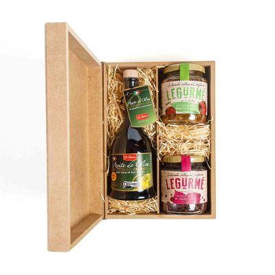 Amélio Gourmet - Kit Gourmet Orgânico com Aperitivos e Azeite Extra Virgem