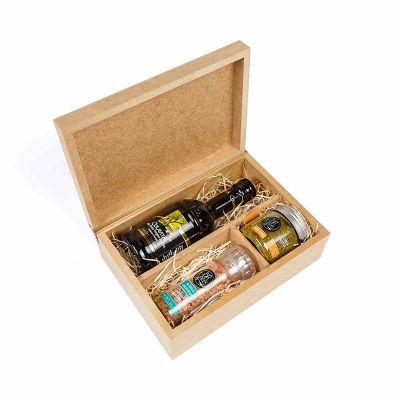amelio-gourmet - Kit Gourmet para preparo de Saladas com Azeite e Moedor de tempero