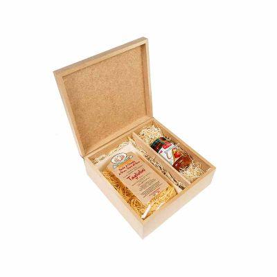 Amélio Presentes - Kit Gourmet com massa especial italiana e molho italiano