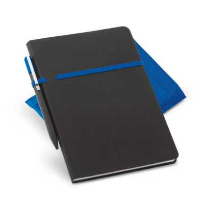 Kit caderno personalizado com caneta