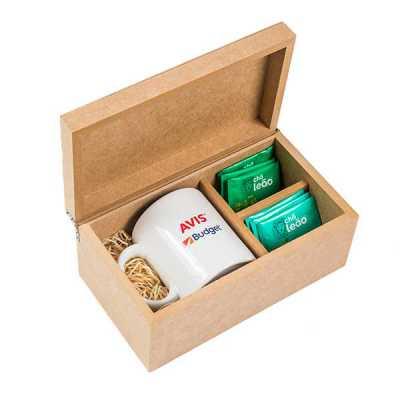 Kit Chá e caneca Personalizado