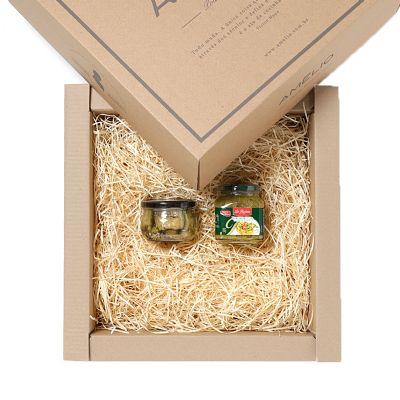 Kit Gourmet com dois aperitivos. Temos várias opções de aperitivos, entre em contato com nossa equipe e monte seu kit de forma personalizada. Esse kit...