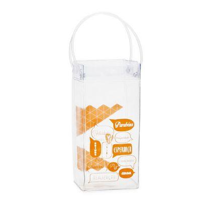 vigui-promo - Ice bag personalizada para 1 ou 2 garrafas.