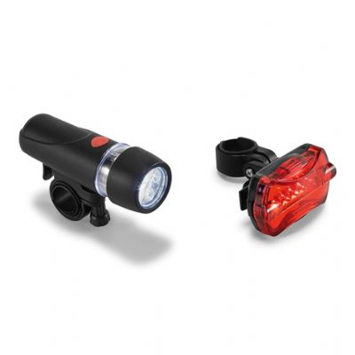 - Kit farol para bicicleta. Farol dianteiro com 5 LEDs e 2 modos de luz. Farol traseiro com 5 LEDs e 7 modos de luz. Fornecido em caixa. Farol dianteiro...