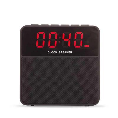Gift Mais Promocional - Caixa de Som Bluetooth com Relógio Digital