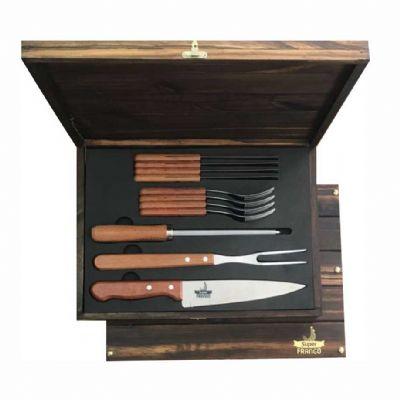 royal-laser - Kit churrasco Tramontina 12 peças