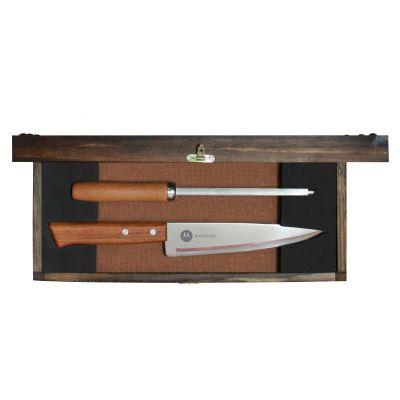 Kit churrasco personalizado com 2 peças