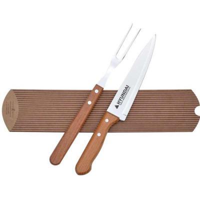 Kit churrasco Tramontina 02 peças linha Naturalle