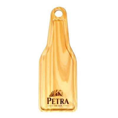 Tábua para churrasco formato garrafa