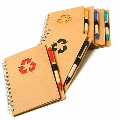 yes-brindes - Agenda com caneta.