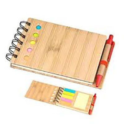 YES Brindes - Bloco de anotações com post it e caneta.