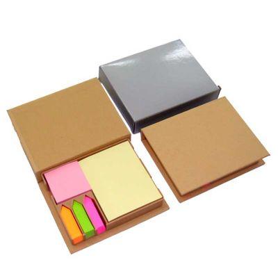 YES Brindes - Bloco de anotações com stick notes