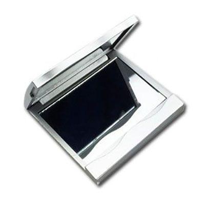 YES Brindes - Espelho duplo de bolsa quadrado.