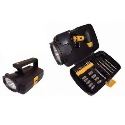 yes-brindes - Lanterna com kit ferramentas