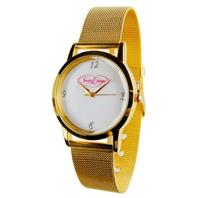 29e303a1960 Relógio feminino de pulso analógico personalizado - 182623