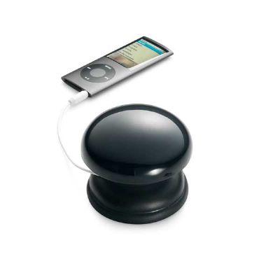 Caixa de som com ligação stereo, incluso cabo USB