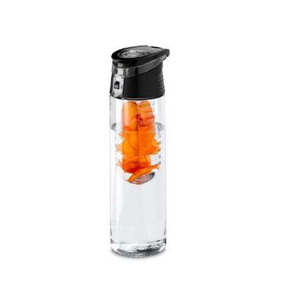 choque-promocional - Squeeze plástico com infusor de frutas 740ml