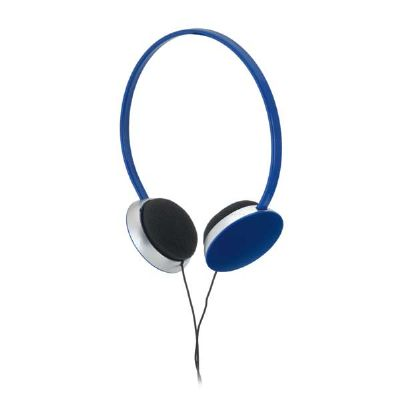 Choque Promocional - Fone de ouvido ABS, ajustáveis, cabo de 1,20m com ligação stereo de 3,5 mm, 15 x 16,5cm, gravação silk.