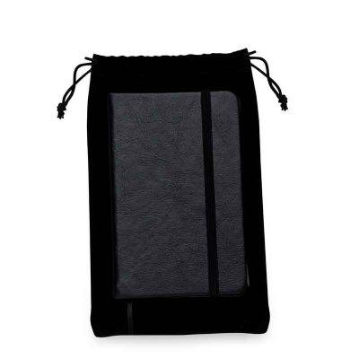 - Kit caderneta em couro sintético com estojo de veludo. com capa texturizada frente e verso liso, tem a primeira e última folha lisa e aproximadamente...