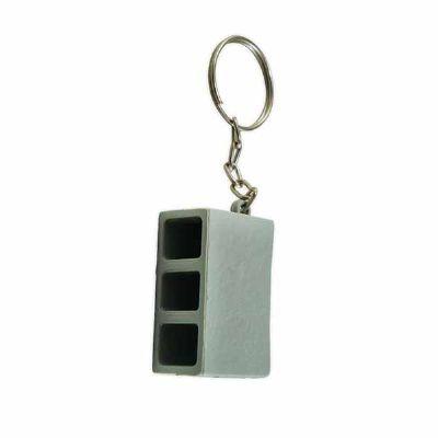 MSN Brindes - Chaveiro plástico bloco de concreto